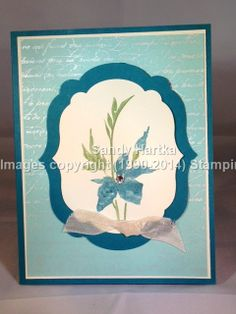 Stampin'Up! hand-stamped greeting cards, Stampinup, Fabulous Florets