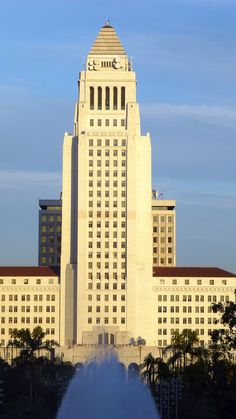 City Hall. Downtown. Los Angeles, CA.
