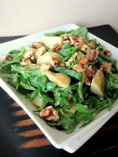 Lemons and Lima Beans: arugula, potato, and green bean salad