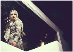 Paola Suhonen wearing her own Ivana Helsinki brand. -I want that dress!