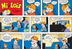 Hi and Lois Comic Strip for September 28, 2014 | Comics Kingdom