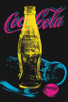COCA COLA - Black light Poster FOLLOW THIS BOARD FOR GREAT COKE OR ANY OF OUR OTHER COCA COLA BOARDS. WE HAVE A FEW SEPERATED BY THINGS LIKE CANS, BOTTLES, ADS. AND MORE...CHECK 'EM OUT!! Anthony Contorno Sr