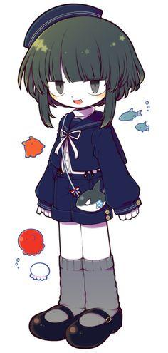 Ohhh, this is Wadda and Samekichi's kid, right? Minami is his name!