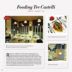 Fooding Osteria Bistro'-Roma http://2night.it/fooding-trecastelli-roma.html