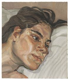 Lucian Freud, Head of Esther (1983). Photo: courtesy Christie's.