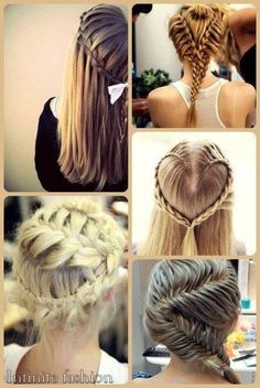 some ladies believe that wearing any kinds of braids are like royalties. Pretty Hairstyles, Cute Hairstyles, Braided Hairstyles, Love Hair, Gorgeous Hair, Natural Hair Styles, Short Hair Styles, Different Braids, Hair Art