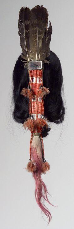 Орнамент для волос. Сиу, 1890 год.