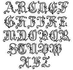 Dalmatino Initials