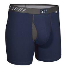 2UNDR Swing Shift Men's Underwear Navy/Grey