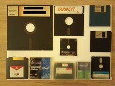 Classic Video Games, Computers, Retro, Neo Traditional, Rustic, Retro Illustration, Mid Century