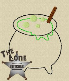 Cauldron Over Sized: The Lone Stitcher