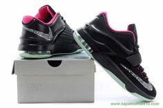 "Masculino Nike KD VII ""Solar Yeezy"" Preto and Rosa KDVII-020 venda de tenis on line"