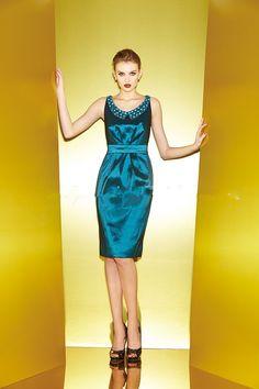 2015 Scoop Sleeveless Satin Knee Length Zipper Mother of the Bride Dresses  Jasmine MBD150051 Jasmine Dress f903c0a3ec06