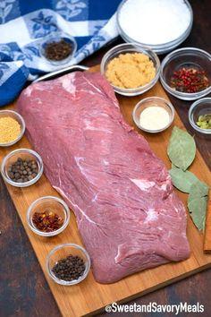 Corned Beef Brine Recipe, Corned Beef Seasoning, Homemade Corned Beef, Cooking Corned Beef, Beef Brisket Recipes, Corned Beef Hash, Beef Recipes For Dinner, Cooking Recipes, Cooking Ideas