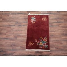 Rugsource Art Deco Chinese Oriental Hand Made Traditional Area Rug x Traditional Area Rugs, Art Deco Diamond, Antique Jewelry, Jewelry Collection, Oriental, Antiques, Chinese, Handmade, Old Jewelry