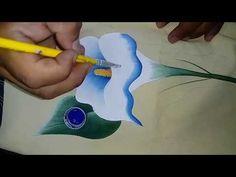 Tutorial de pintura textil. Pintando Alcatraz. - YouTube