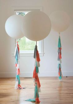 how to make a balloon tassel