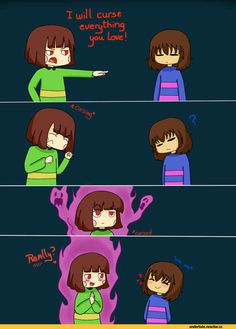 Awww...I feel for Chara...which says something cause I dislike her.