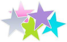 Image result for blue stars clipart