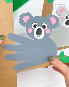 Koala Handprint Craft