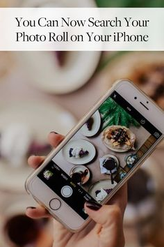 Hallelujah! You Can Now Search Your Photo Roll on Your iPhone via @PureWow