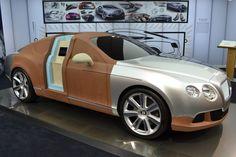 "155 Me gusta, 5 comentarios - Form Trends (@formtrends) en Instagram: ""#Bentley Continental GT clay model at the company's studio in Crewe (: Rodd Sala) #TBT"""