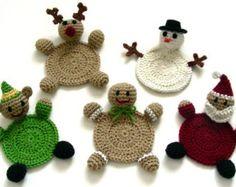 Maple Leaf Coasters PDF Crochet Pattern por CrochetSpotPatterns