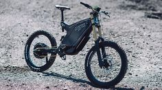 The Best Custom Carbon Electric Mountain Bike