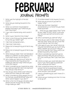 Discover recipes, home ideas, style inspiration and other ideas to try. Journal Topics, Journal Writing Prompts, Journal Entries, Creative Writing Classes, Creative Writing Prompts, February Journal, 30 Day Writing Challenge, Affirmations, Planners