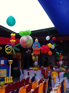 Lego Birthday Party Ideas | Photo 4 of 17 | Catch My Party