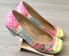 Beautiful hand painted shoes