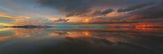 Stormy reflections - Antelope Island.  http://parkflavor.deviantart.com