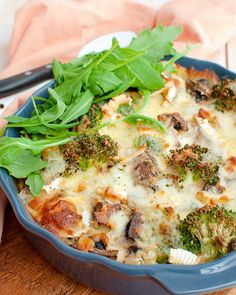 Recipe: Low-carb oven dish with broccoli and ham - Savory Sweets - Recipe: Low-carb oven dish with broccoli and ham – Savory Sweets - Clean Recipes, Low Carb Recipes, Cooking Recipes, Healthy Recipes, Healthy Food, Low Carb Quiche, Low Carb Casseroles, Healthy Meals For Kids, Food Hacks
