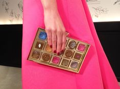 Literal arm candy (or rather, hand candy) at kate spade ny's #NYFW #AW15 presentation