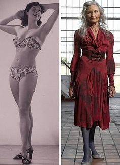 83 year old model - awesome!