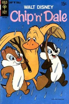 Chip n Dale Gold Key vintage comic book  Disney