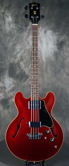GIBSON EB-2 Bass Sparkling Burgundy 1967