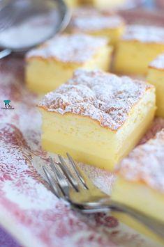 Ciasto magiczne Camembert Cheese, Cheesecake, Food, Diy Cake, Cheesecake Cake, Cheesecake Pie, Eten, Meals, Cheesecake Bars