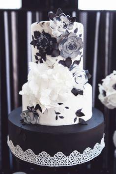 Quirky Yet Elegant, Monochrome Inspiration   Bespoke-Bride: Wedding Blog