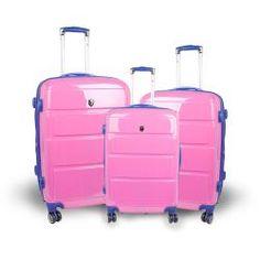 Pink Luggage Set
