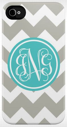 Personalized Chevron iphone case by daninotes on Etsy, love!