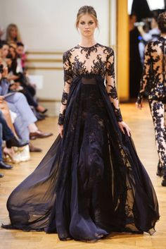 View all the catwalk photos of the Zuhair Murad haute couture autumn 2013 showing at Paris fashion week. Read the article to see the full gallery. Zuhair Murad, Beautiful Gowns, Beautiful Outfits, Beautiful Lingerie, Runway Fashion, Fashion Show, Paris Fashion, Fashion Online, Haute Couture Dresses