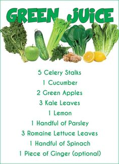 mean green juice recipe, must try!