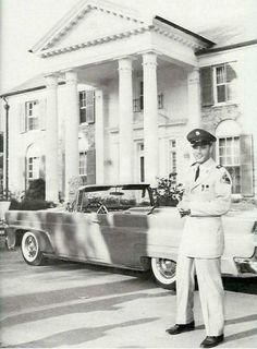 1958-06 at Graceland on leave