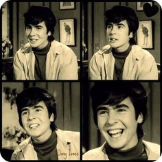 """Davy Jones Monkees audition; loved when they asked him what kind of sound he made, and Davy replies """"I make a terrible sound"""""""