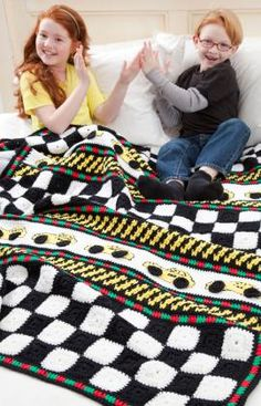 Taxi! Taxi! Throw By Michele Maks - Free Crochet Pattern - (redheart)