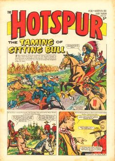 The Hotspur comic, March 1965