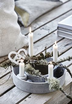 Beautiful advent can