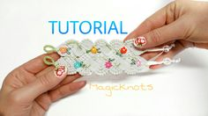 In this tutorial video i'll show you how to make hand embroidery micro macrame bracelet. Materials you need: -Cotton cord 14 x 210 cm / 84'' inch Full tutori...