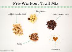 Pre-Workout Trail Mix Recipe